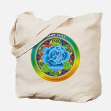 Blue Rose Bliss Tote Bag