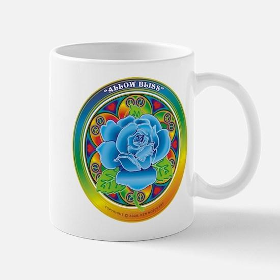 Blue Rose Bliss Mug