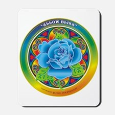 Blue Rose Bliss Mousepad