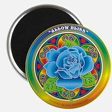 Blue Rose Bliss Magnet