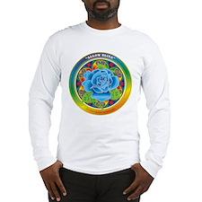 Blue Rose Bliss Long Sleeve T-Shirt