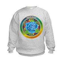 Blue Rose Bliss Sweatshirt