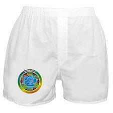 Blue Rose Bliss Boxer Shorts