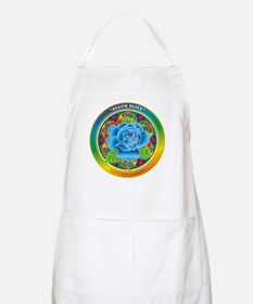 Blue Rose Bliss BBQ Apron