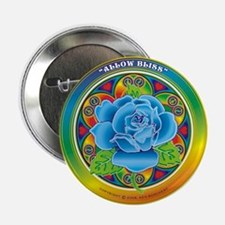 "Blue Rose Bliss 2.25"" Button"