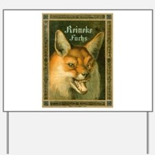 Reynard the Fox Yard Sign