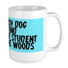 Search dog honor student Mug