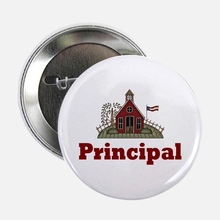 "School Principal 2.25"" Button"