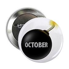 """October 2.25"""" Button"""