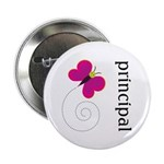 "Cute Principal 2.25"" Button (10 pack)"