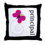 Cute Principal Throw Pillow