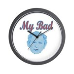 Bush's Bad Wall Clock
