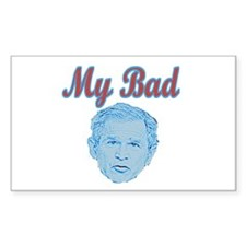 Bush's Bad Rectangle Decal
