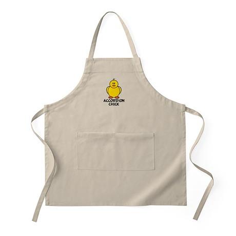 Accordion Chick BBQ Apron