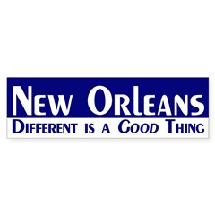 New Orleans: Different is a Good Thing