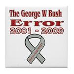 The Bush Error Tile Coaster