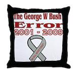 The Bush Error Throw Pillow