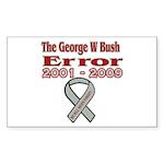 The Bush Error Rectangle Sticker 50 pk)