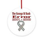 The Bush Error Ornament (Round)