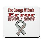 The Bush Error Mousepad