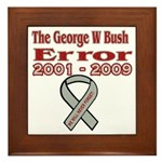 The Bush Error Framed Tile