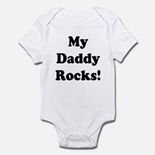 My Daddy Rocks! Infant Bodysuit