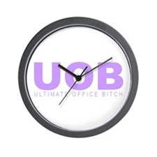 """""""Ultimate Office Bitch"""" Wall Clock"""