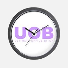 """Ultimate Office Bitch"" Wall Clock"