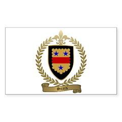 SEARS Family Crest Rectangle Sticker 10 pk)
