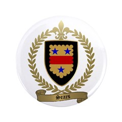 """SEARS Family Crest 3.5"""" Button"""