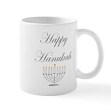 Happy Hanukah Menorah Mug