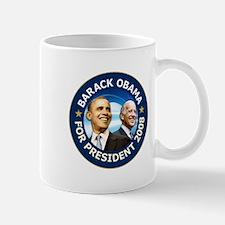 Obama 2008 Deep Blue Mug