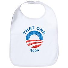 Vintage That One 2008 obama Logo Bib