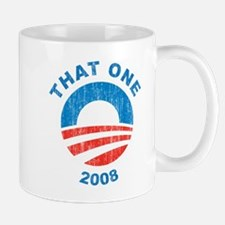 Vintage That One 2008 obama Logo Mug