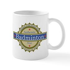 US Badminton Star Mug