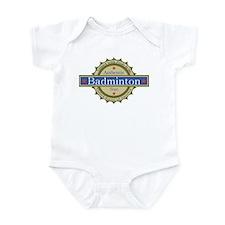 US Badminton Star Infant Bodysuit