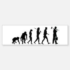 Painter Evolution Bumper Bumper Sticker