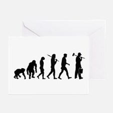 Painter Evolution Greeting Cards (Pk of 20)