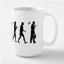 Painter Evolution Large Mug