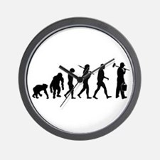 Painter Evolution Wall Clock