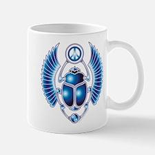 Blue Scarab Mug