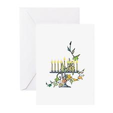 Menorah Greeting Cards (Pk of 20)