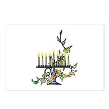 Menorah Postcards (Package of 8)