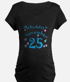 November 25th Birthday T-Shirt