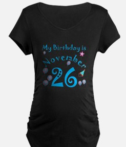 November 26th Birthday T-Shirt
