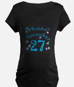 November 27th Birthday T-Shirt