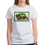 National Birds on Thanksgivin Women's T-Shirt