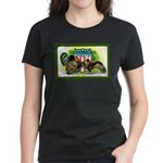 National Birds on Thanksgivin Women's Dark T-Shirt