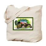 National Birds on Thanksgivin Tote Bag