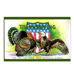 National Birds on Thanksgivin Postcards (Package o